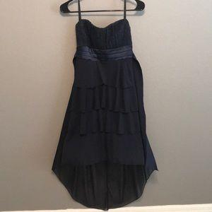 Strapless High Low Deb Dress